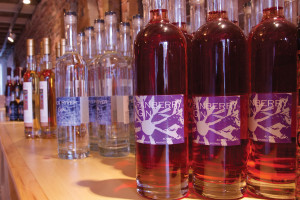 Sweetgrass' Back River Gin was recently name one of the top two gins ever made by Spirit Journal. The Cranberry Gin offers a unique twist on the original. PHOTO: John Finch