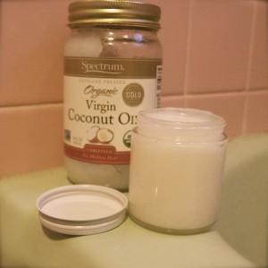 Easy DIY coconut oil sugar body scrub  (see recipe below)