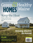 Cover of Green & Healthy Maine HOMES fall edition