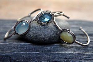 A nested bracelet by Portland designer Jen Burrall.