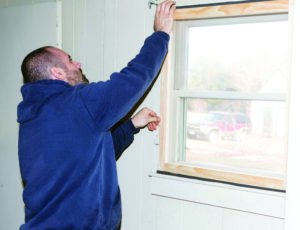 Some Habitat for Humanity affiliates in Maine are also helping to reduce the cost of home ownership by providing free home weatherization services for low income homeowners. Using volunteer labor and donated materials to built storm windows and add insulation around drafty windows and doors, these programs help homeowners to reduce their utility costs by improving the energy efficiency of their homes.