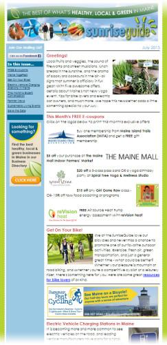 SunriseGuide newsletter