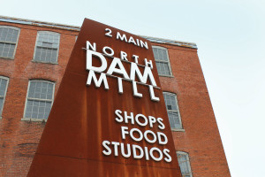 North Dam Mill is a welcome place to explore the studios of local artists. Photo: Jen Hazard