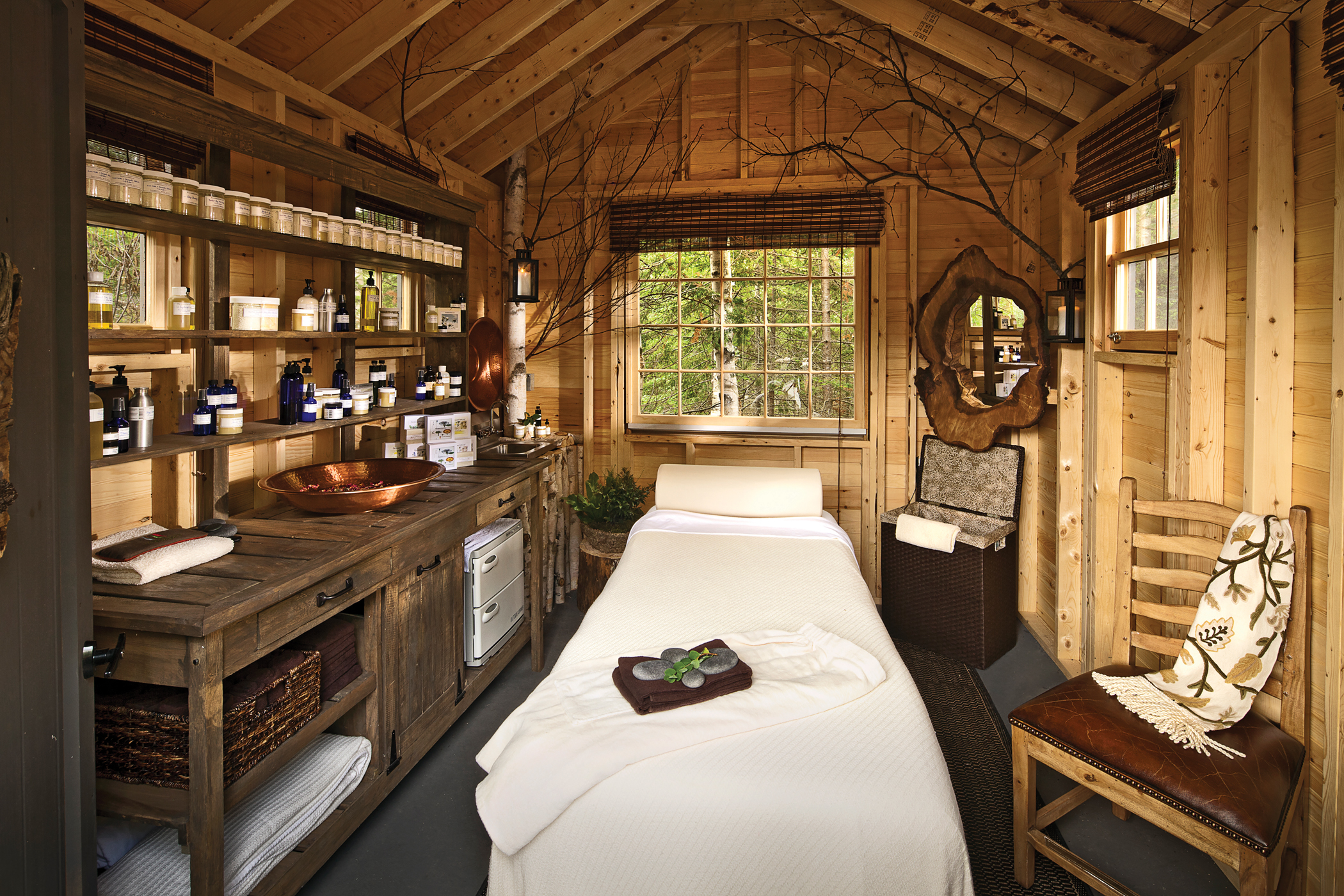 Eco Friendly Amp Nature Inspired Spas In Maine The